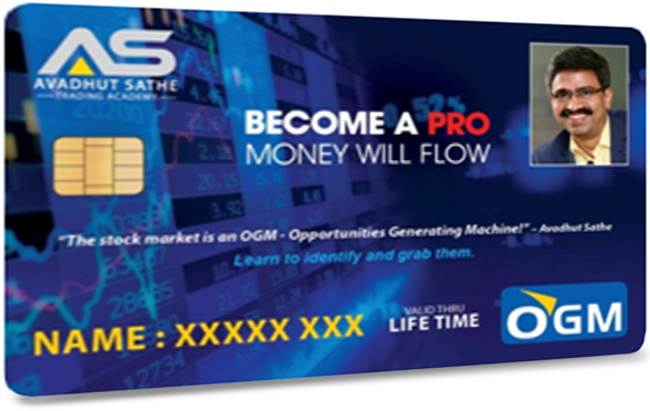 OGM Card by Avadhut Sathe Trading Academy